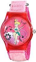 Disney Kids' W001705 Tinker Bell Analog Display Analog Quartz Pink Watch