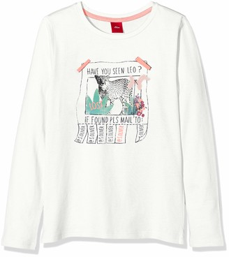 S'Oliver Girl's 53.908.31.8766 T-Shirt