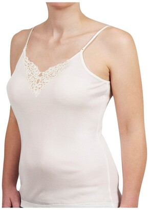Baselayers Pure Wool Cami with Motif B4415