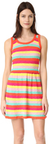 Moschino Striped Sleeveless Dress