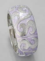 New York & Co. Swirl Hinge Bracelet