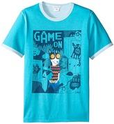 Little Marc Jacobs Reversible Jersey Tee Shirt Fancy Illustration (Big Kids)