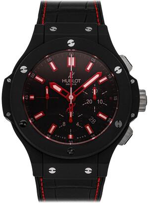 Hublot Black Ceramic Big Bang Chronograph 301.CI.1123.GR Men's Wristwatch 44 MM
