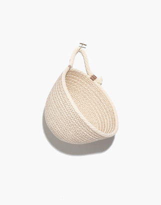 Madewell Brklyn Home Mini Wall Hanging Rope Basket