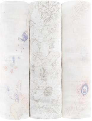 Aden Anais Aden + Anais Featherlight Swaddles (Set of 3)
