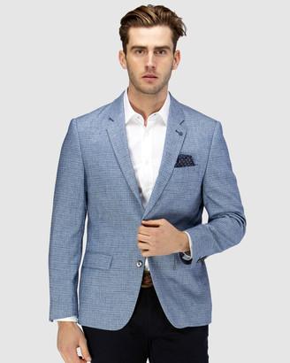 Brooksfield Crosshatch Textured Blazer