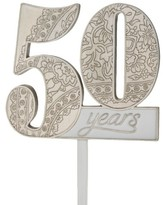 Lillian Rose 50th Anniversary Cake Topper