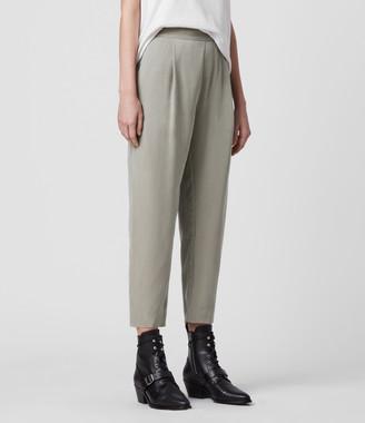 AllSaints Alva Tapered High-Rise Pants