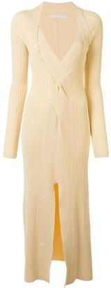 Dion Lee V-neck midi dress