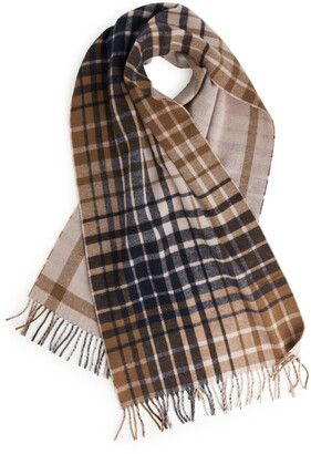 Arket Checked Wool Scarf
