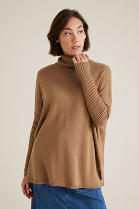 Seed Heritage High Neck Boxy Sweater