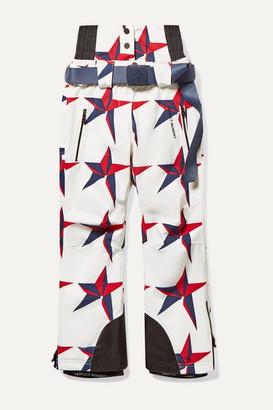 Perfect Moment Kids Ages 6 - 12 Chamonix Printed Padded Ski Pants