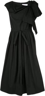 Carolina Herrera flared bow dress