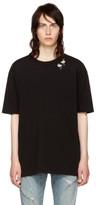 Saint Laurent Black Flamingo T-shirt