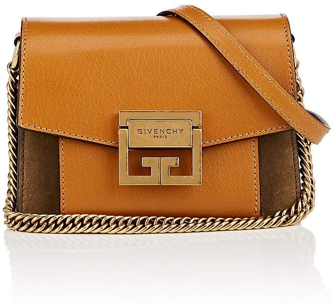 Givenchy Women's GV3 Mini Leather & Suede Shoulder Bag