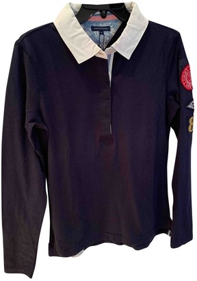 Tommy Hilfiger Navy Cotton Top for Women