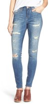 Jag Jeans Women's 'Sheridan' Distressed Skinny Jeans