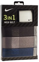 Nike Web Belts (3-Pack)