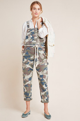 Anthropologie Carter Utility Overalls By in Green Size 0