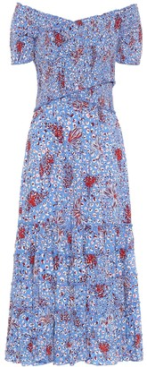 Poupette St Barth Exclusive to Mytheresa Soledad printed maxi dress