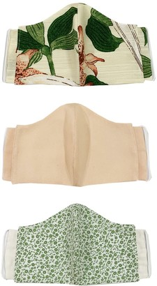 Tencel Reusable Face Masks Pack Of 3 - Dainty
