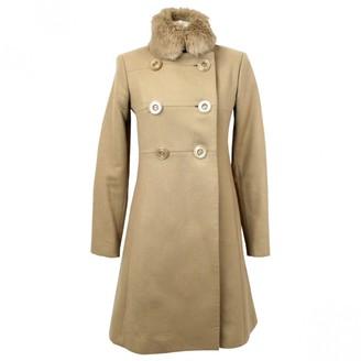 Issa Beige Wool Coats