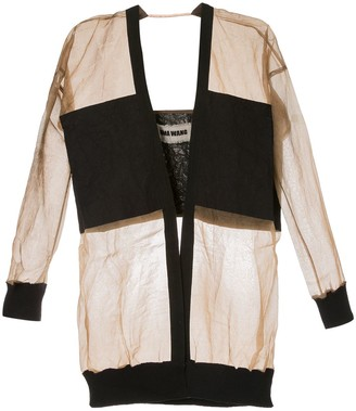 UMA WANG Contrasting Panel Jacket
