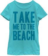 Fifth Sun Tahiti Blue 'Take Me To The Beach' Tee - Toddler & Girls