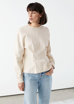 And other stories Fitted Sweatshirt