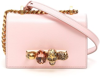 Alexander McQueen Mini Jewel Embellished Satchel