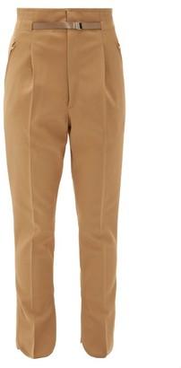 Toga High-waist Tailored Trousers - Womens - Beige
