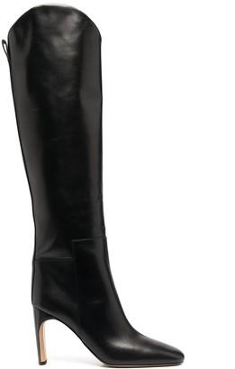 Jil Sander Leather Knee-Length Boots