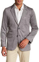 Nordstrom Deconstructed Knit Two Button Notch Lapel Sportcoat