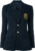 Polo Ralph Lauren cotton blend blazer - women - Cotton/Polyester/Viscose - 4
