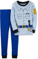 Carter's 2-Pc. Police Cotton Pajama Set, Baby Boys (0-24 months)