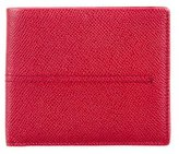 Tod's Grain Leather Bifold Wallet