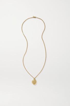 Loren Stewart - + Net Sustain 14-karat Gold Necklace - one size