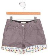 Stella McCartney Girls' Cuffed Shorts
