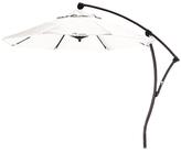 California Umbrella 9' Cantilever Crank Lift Deluxe Market Umbrella