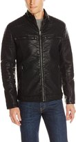 Buffalo David Bitton by David Bitton Men's Turtle Zip Front Open Bottom