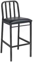 Acme Jodie Bar Chair (Set of 2) - Rustic Oak and Antique Black