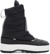 adidas by Stella McCartney Black Nangator 3 Winter Boots