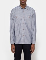 Junya Watanabe Cotton Pin Check/Stripe Shirt