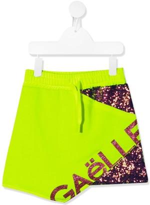 Gaelle Paris Kids Logo Print Skirt