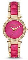 Michael Kors Parker Mother-of-Pearl Analog Bracelet Watch