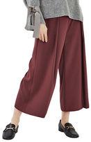 Topshop Vera Cropped Wide Pants