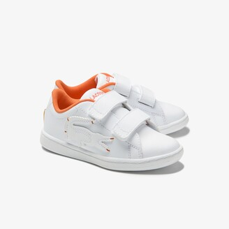 Lacoste Infants' Carnaby Evo Synthetic Oversized Crocodile Trainers