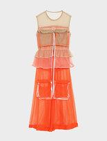 DKNY Runway Sleeveless Mesh Dress