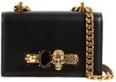 Alexander McQueen Mini Jeweled Leather Satchel Bag