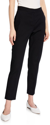 Rosetta Getty Cropped Tapered-Leg Trousers
